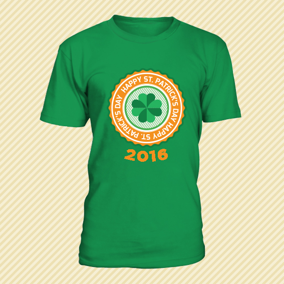 tshirt 2016 st patrick