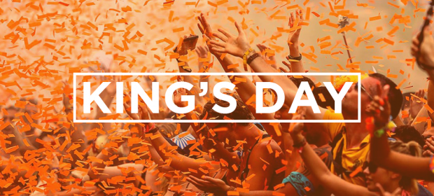 KING'S DAY BANNER
