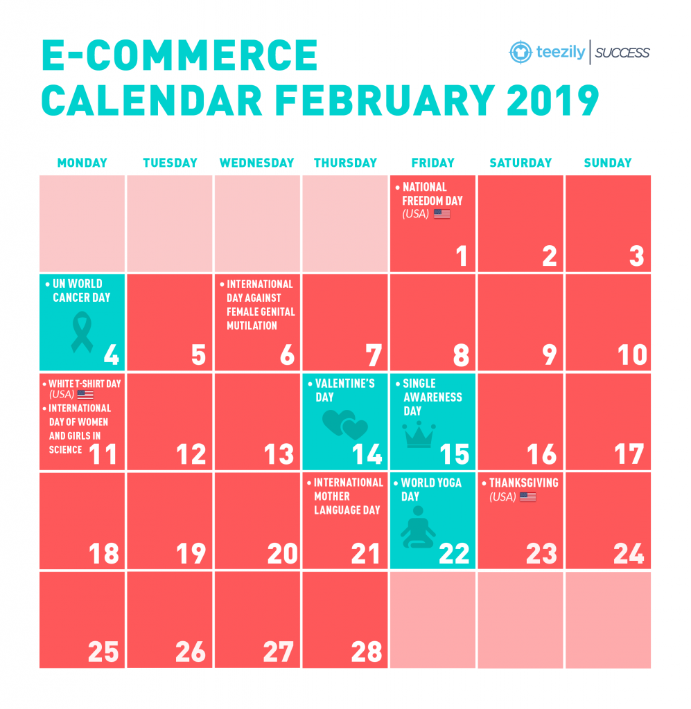Ecommerce Calendar_February_2019